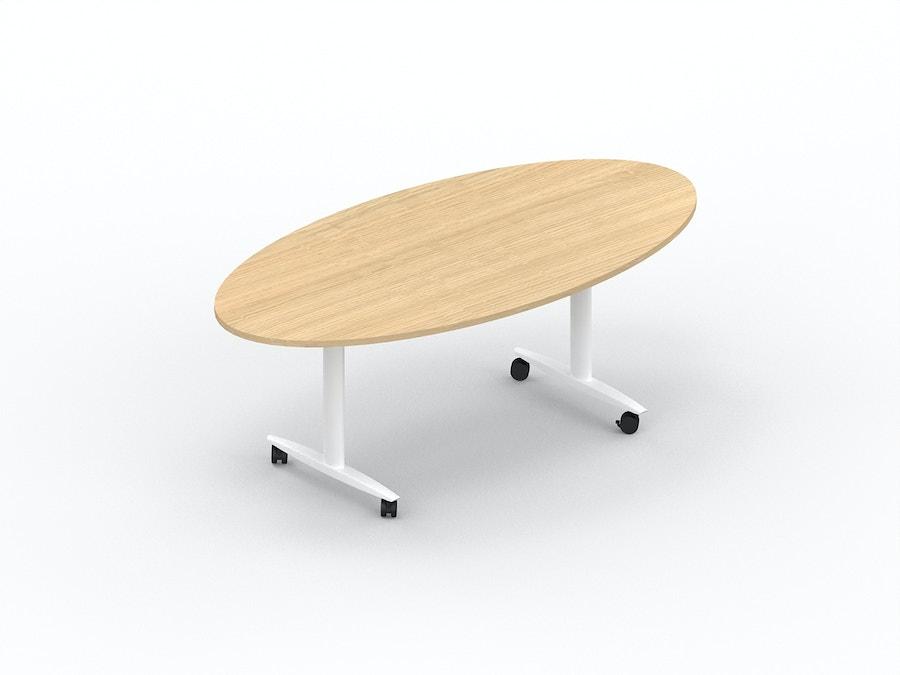 Ovale klaptafel MOVE