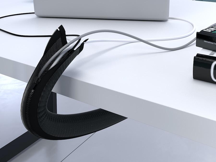 Verticale kabelgeleider TEXTILE