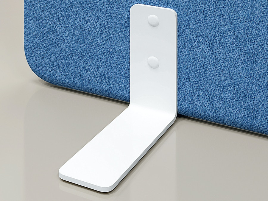 Set of 2 feet for partition