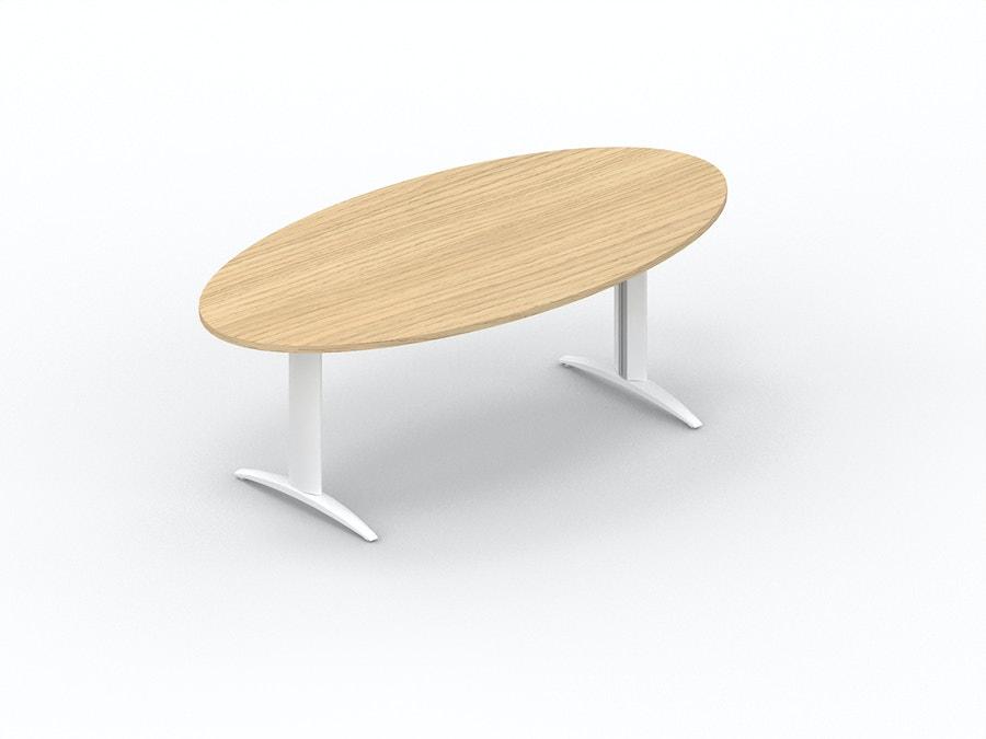 Ovale vergadertafel K2