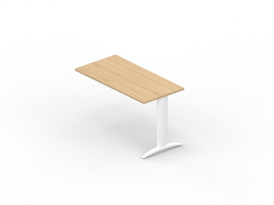 Table extension desk on leg K2