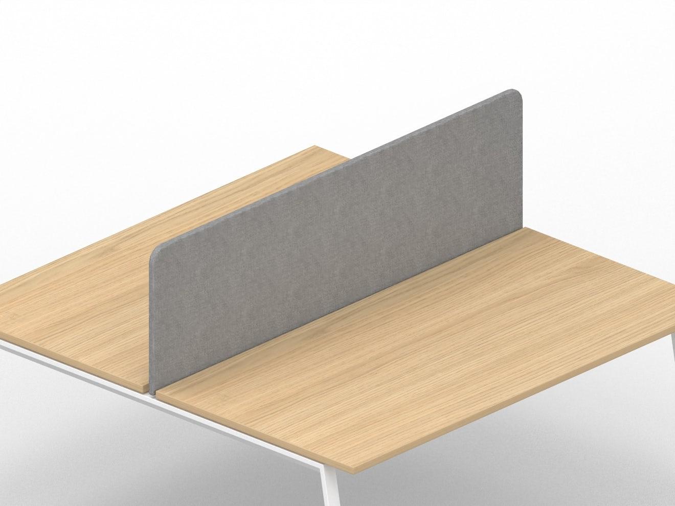 Privacy-paneel voor bench