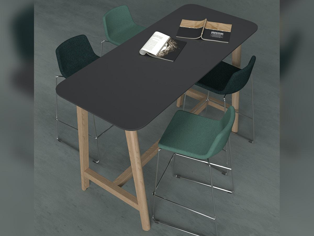 OKA KWOOD Hoge tafel 2