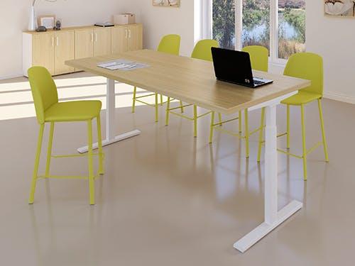 Table de réunion assis-debout