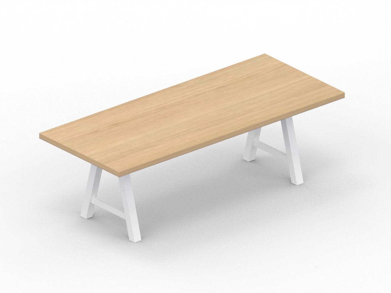 Rechthoekige tafel MENSA